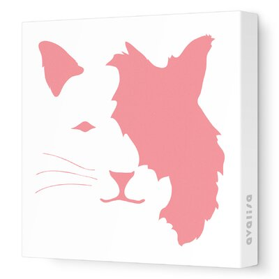 Avalisa Animal Faces Cat Stretched Canvas Art