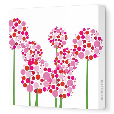 Avalisa Imagination - Allium Stretched Wall Art