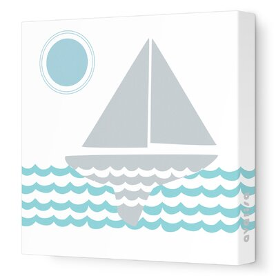 Avalisa Things That Go - Sailing Stretched Wall Art