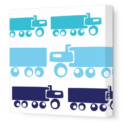 Avalisa Things That Go Trucks Stretched Canvas Art