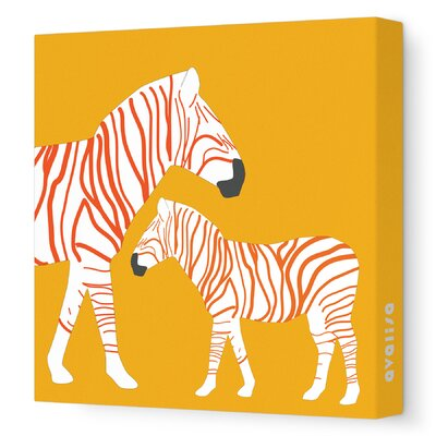 Avalisa Animal - Zebra Stretched Wall Art