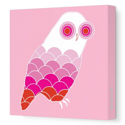 Avalisa Animals Owl Stretched Canvas Art