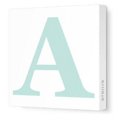 Avalisa Letter - Upper Case 'A' Stretched Wall Art