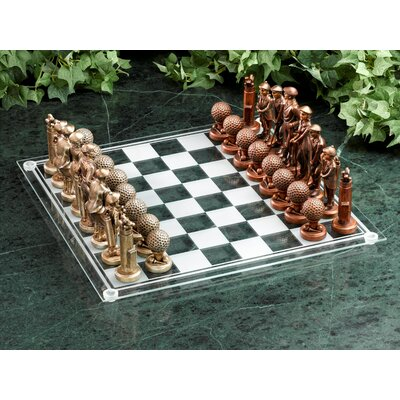 Golf Gifts & Gallery Golf Theme Chess Game