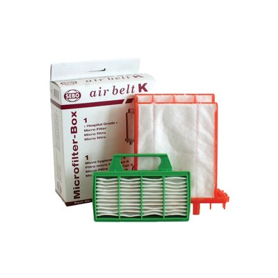 Sebo Filter Set - 1 Microfilter and 1 Exhaust Filter for AIRBELT K Series