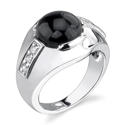 Ultra-chic Glamour Sterling Silver Celebrity Inspired Art Nouveau Style Size 7 Right Hand Ring ...