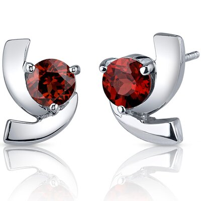 Oravo Heart Cut Cz Dangling Earrings Sterling Silver