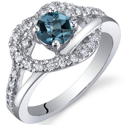 Oravo Rhythmic Harmony 0.50 Carats Ring in Sterling Silver