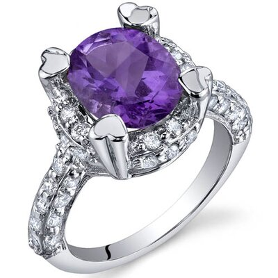 Oravo Royal Splendor 2.25 Carats Ring in Sterling Silver