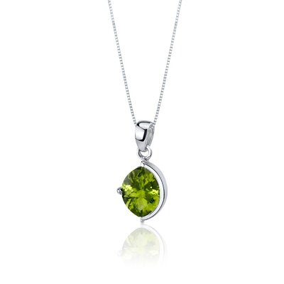 Oravo Museum Design 4.75 Carats Marquise Cut Sterling Silver Peridot Pendant Earrings Set