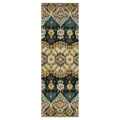 Loloi Rugs Leyda Black / Light Gold Rug