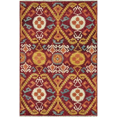 Loloi Rugs Spencer Crimson / Gold Rug