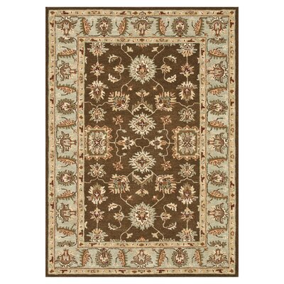 Fairfield Brown/Turquoise Rug