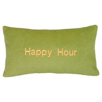 <strong>123 Creations</strong> Happy Hour Cashmere Blend Pillow