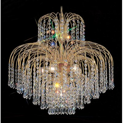 Classic Lighting Sprays 6 Light Chandelier