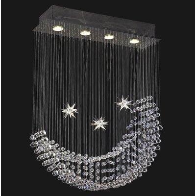 Corpi Celeste 4 Light Chandelier
