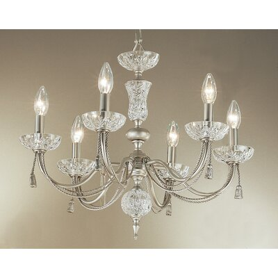 Classic Lighting Weatherford Rope 6 Light Chandelier
