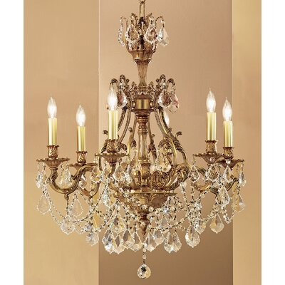 Classic Lighting Majestic Imperial 6 Light Chandelier