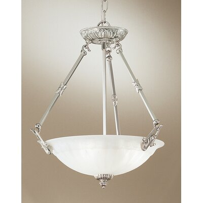 Classic Lighting Yorkshire II 3 Light Inverted Pendant
