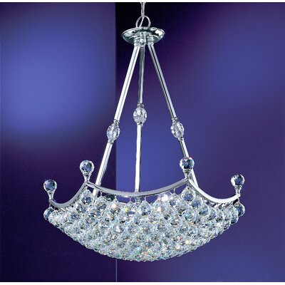 Classic Lighting Solitaire 15 Light Inverted Pendant