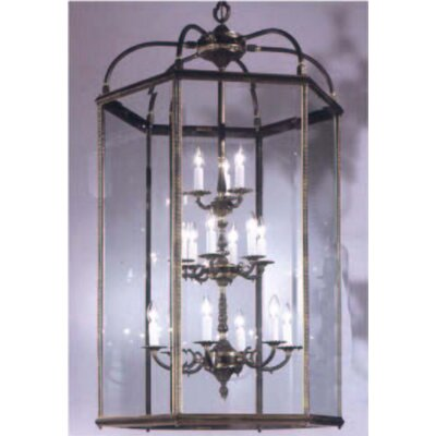 Classic Lighting European 15 Light Outdoor Hanging Lantern