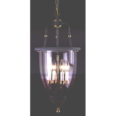 Classic Lighting Asheville 4 Light Outdoor Hanging Lantern
