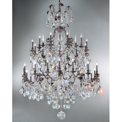 Classic Lighting Versailles 30 Light Chandelier