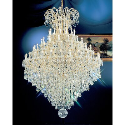 Classic Lighting Maria Thersea 84 Light Chandelier