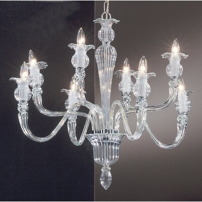 Classic Lighting Palermo 8 Light Chandelier
