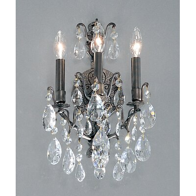 Classic Lighting Versailles 3 Light Wall Sconce