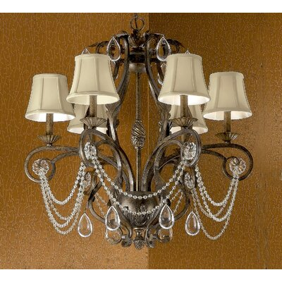Classic Lighting Tuscany 6 Light Chandelier