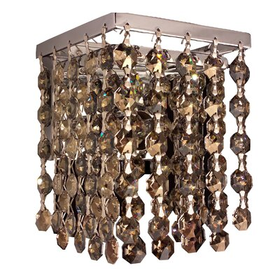 Classic Lighting Bedazzle 1 Light Wall Sconce