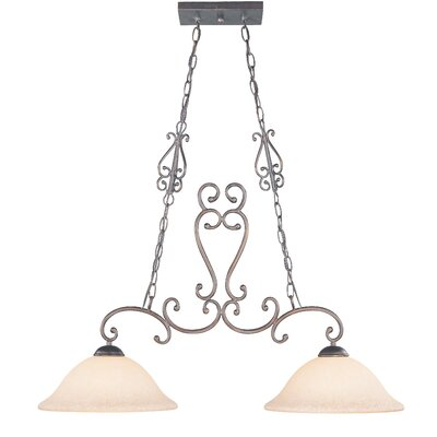 Classic Lighting Cape Cod 2 Light Island-Billiard Light