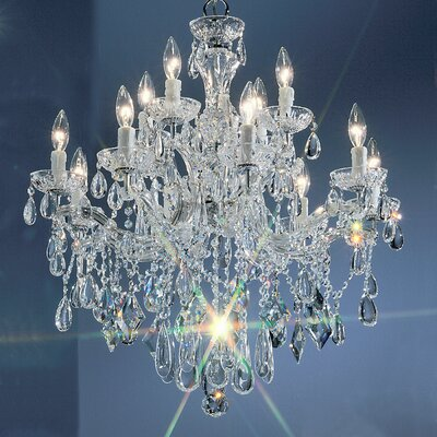 Classic Lighting Rialto 12 Light Chandelier