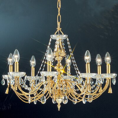 Classic Lighting Vienna 8 Light Chandelier