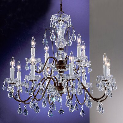 Classic Lighting Daniele 12 Light Chandelier