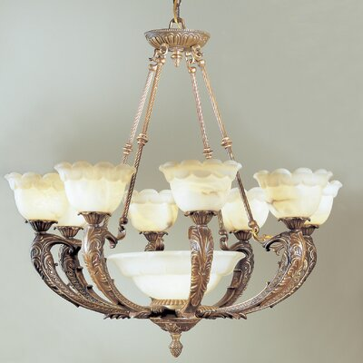 Classic Lighting Victorian I 9 Light Chandelier