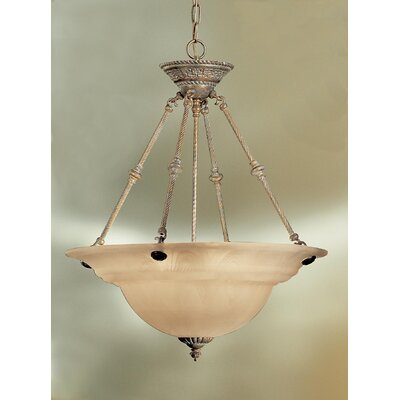 Classic Lighting Yorkshire 6 Light Inverted Pendant