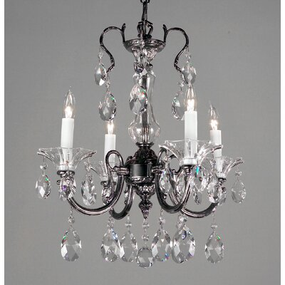 Classic Lighting Via Lombardi 4 Light Mini-Chandelier