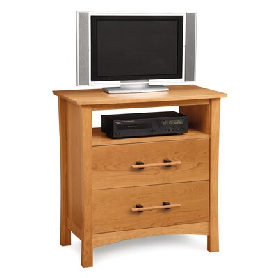 Monterey 2 Drawer Chest with Media Organizer