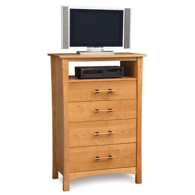 Monterey 4 Drawer Chest with Media Organizer