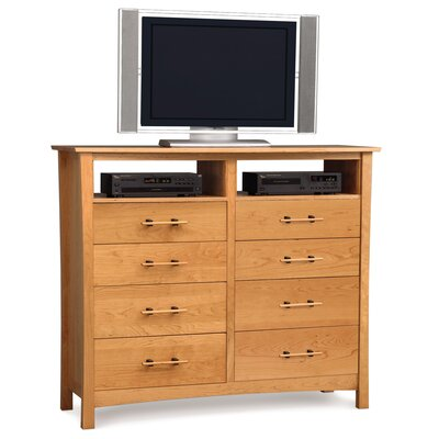 Monterey 8 Drawer Chest with Media Organizer