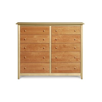 Copeland Furniture Sarah 10 Drawer Dresser