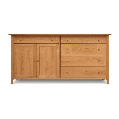 Copeland Furniture Sarah 4 Drawers on Right Buffet