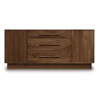 Copeland Furniture Moduluxe 3 Center Drawer Dresser