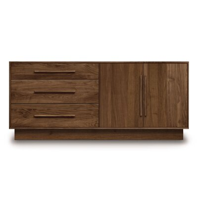 Copeland Furniture Moduluxe 3 Left Drawer Dresser