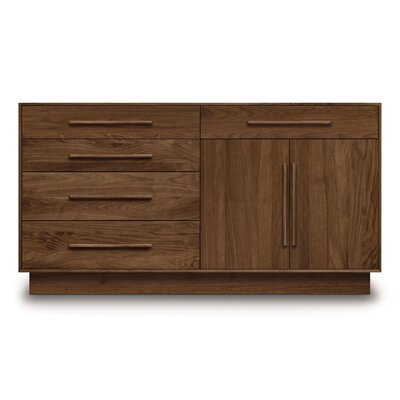Copeland Furniture Moduluxe 4 Left Drawer Dresser