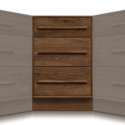 Moduluxe 3 Drawer Corner Chest
