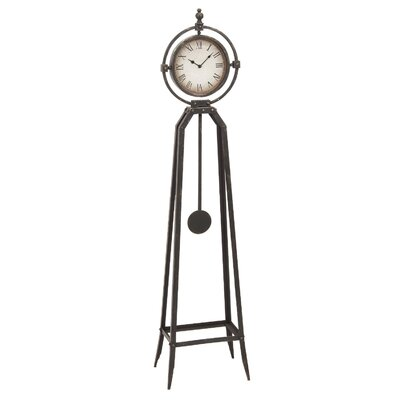 "57"" Floor Clock with Pendulum"