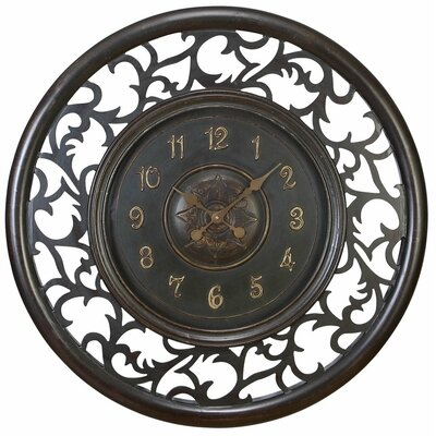 "Aspire 36"" Medieval Wall Clock"